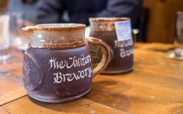 bespoke stoneware at the chiltern brewery buckinghamshire