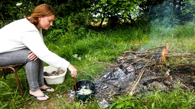 cooking off grid